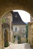Village of Castelnaud Royalty Free Stock Photos