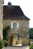 Village of Castelnaud Royalty Free Stock Images