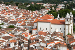 Village of Castelo de Vide, Portugal Stock Images
