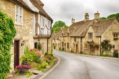 Village of Castle Combe  Royalty Free Stock Image