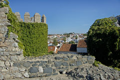 A village castle in Portugal stock photo