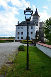 Village and castle Rosenberg in South Bohemia Stock Images