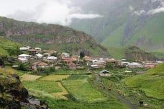 Village, Caucasus Mountains, Georgia Stock Image