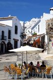 Village centre, Frigiliana, Spain. Stock Photos