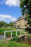Village centre, Lower Slaughter. Stock Photos