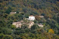 Village of the Cevennes Stock Photography