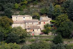Village of the Cevennes Royalty Free Stock Images