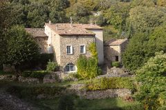 Village of the Cevennes Royalty Free Stock Photography