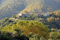 Village of the Cevennes Stock Photo