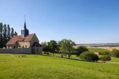 Village in Champagne region Royalty Free Stock Photography