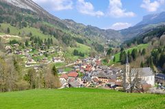 Village in Chartreuse (France) Stock Photos