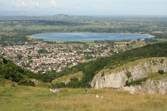 The village of Cheddar Stock Photos