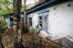 Village in Chernobyl zone Royalty Free Stock Photography