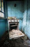 Village in Chernobyl zone Stock Photos