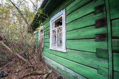 Village in Chernobyl zone Stock Photography