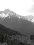 Village chez le Népal Images libres de droits