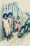 Village children Royalty Free Stock Image