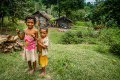 Village children Stock Images