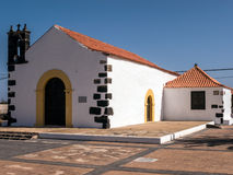 Village Church in the Canary Islands Royalty Free Stock Photos