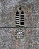 Village church clock Stock Photo