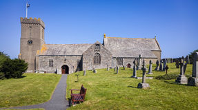 Village Church in Cornwall England Stock Photography
