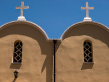 Village Church in Crete, Greece Royalty Free Stock Photos