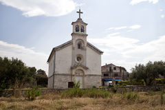 Village church, Croatia Stock Images