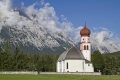 Village church in Leutasch Stock Photos