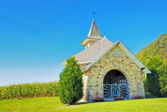 Village church Royalty Free Stock Images