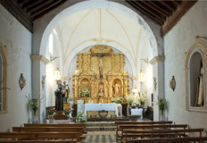 Village Church in Notaez Royalty Free Stock Images
