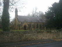 Church in a village Stock Photos