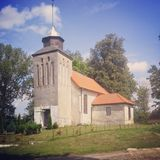 Village church in Poland, Kwasowo Royalty Free Stock Image