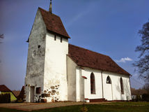 Village church in Poland Stock Photography