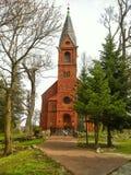 Village church in Poland Stock Image
