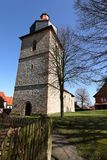Village church of Röhrda in northern Hesse. The village church of Röhrda in northern Hesse Royalty Free Stock Photography