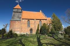 Village Church In Reinberg Stock Photo