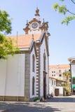 Village church of Ribeira Brava, Madeira Stock Photos
