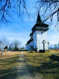 Village church in Romania Royalty Free Stock Photos