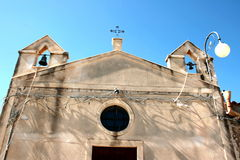 Village church in Siciliy Royalty Free Stock Image