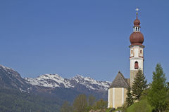 Village Church in South Tyrol Royalty Free Stock Photography