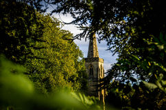 Village Church. The church of St Denys in Ibstock, Leicestershire, England royalty free stock photography