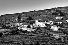 Village with Church Stock Photos