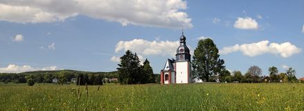 Village church in the Taunus Royalty Free Stock Images