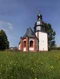 Village church in the Taunus Stock Image