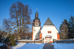 Village church in the Taunus Royalty Free Stock Image