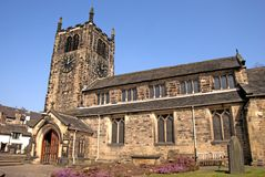 A Village Church in Yorkshire Royalty Free Stock Photos
