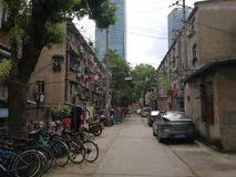 Old Village in wuhan City royalty free stock photography