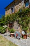 Village Civita di Bagnoregio in Italy Royalty Free Stock Photos