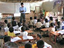 Village classroom - Cambodia Royalty Free Stock Image