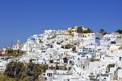 Village on the cliff Royalty Free Stock Images